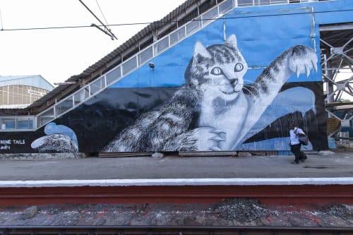 Anpu Varkey - Street Murals and Murals
