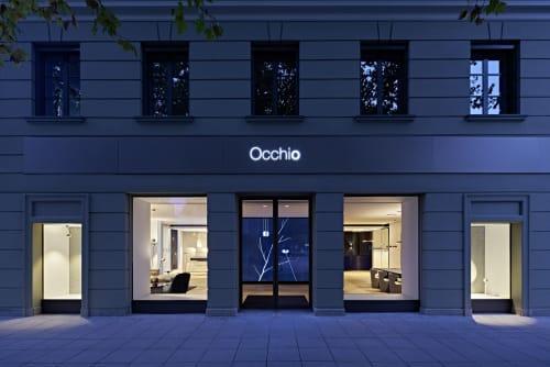 Interior Design by 1zu33 seen at Brienner Straße, München - Flagship Store Munich, Occhio