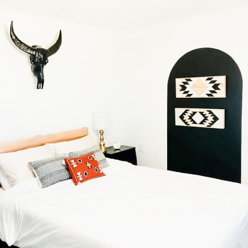 Wall Hangings by Gerber Design Co seen at Private Residence, Joshua Tree - Southwestern Art & Decor