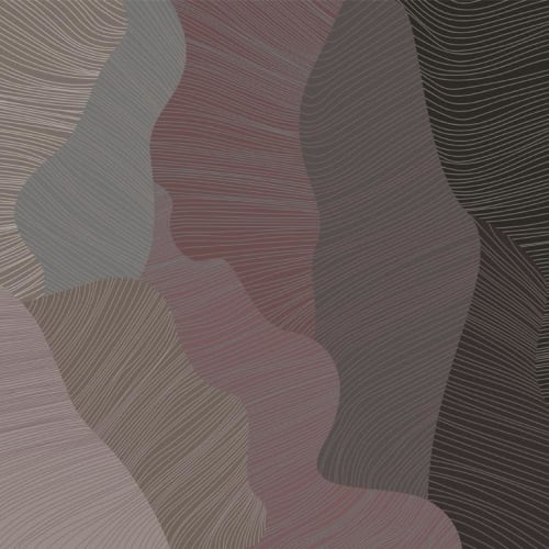 Wallpaper by Jill Malek Wallpaper - Reef   Mulberry