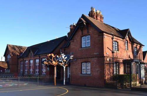 Sculptures by Will Carr Sculpture seen at Eardisley CE Primary School, Eardisley - Eardisley School Sculpture