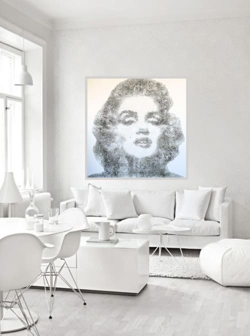 Art Curation by Virginie SCHROEDER seen at Private Residence, Los Angeles - design and abstract