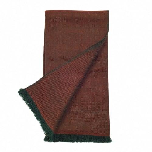 Merlot Merino Throw | Linens & Bedding by Studio Variously