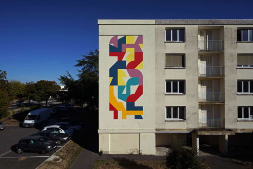 Street Murals by Eltono at maison des associations de Sainte Pezenne, Niort - Modo n.º30