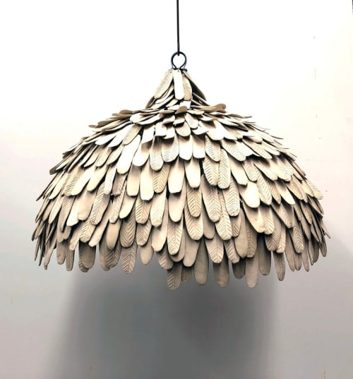 The Mud Leaf Dome | Pendants by Mud Studio, South Africa