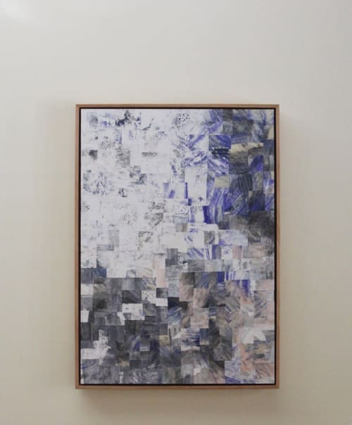 Paintings by Myrrhine Fabricius seen at Private Residence, Sydney, Sydney - Fairy Bower