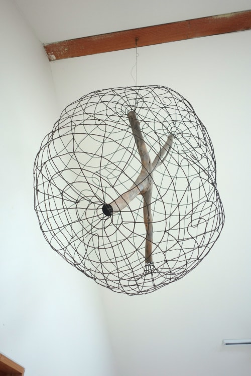 Wall Hangings by Gina Telcocci seen at Private Residence, Oakland - Big X