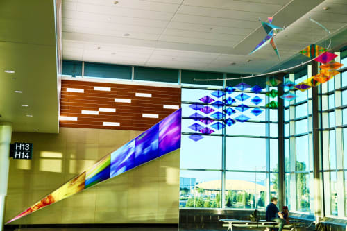 Art & Wall Decor by Philip Noyed seen at Minneapolis–Saint Paul International Airport (MSP) - The Leap of Joy