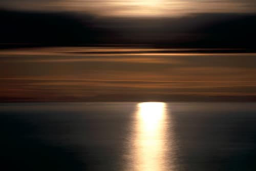 Moon Over Atlantic #11   Photography by Chris Becker