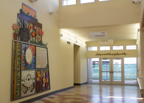 Art & Wall Decor by Joyce Dallal seen at Estelle Van Meter Multipurpose Center, Los Angeles - Tribute to Estelle Van Meter
