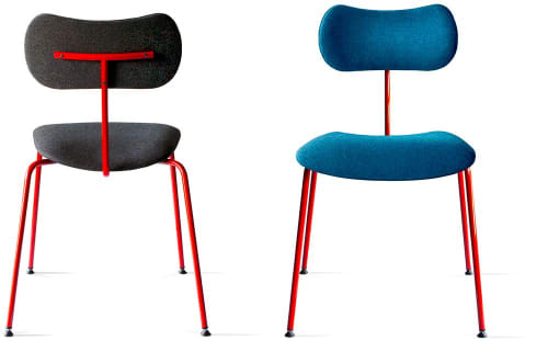 Chairs by Job's Chairs seen at PURO Poznań Stare Miasto, Poznań - NOD chair
