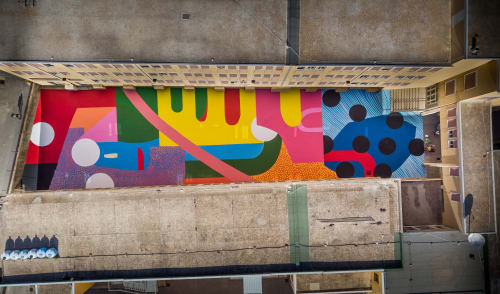 Alex Brewer (HENSE) - Murals and Wall Hangings