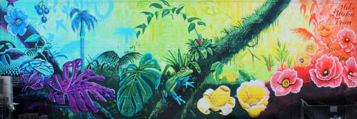 Mike Makatron - Murals and Street Murals
