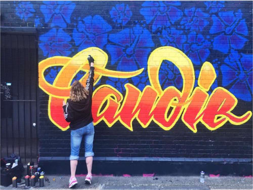 Candie - Street Murals and Public Art