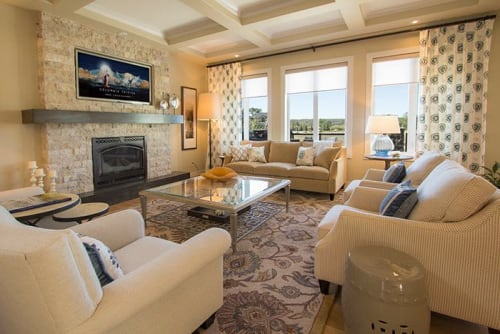 Interior Design by Lush Interiors seen at Private Residence, Calgary - Cranston Residence