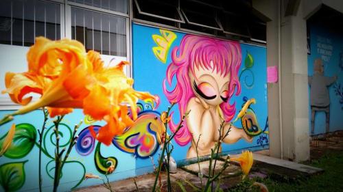 Mari Oliveira Visual Artist - Street Murals and Murals