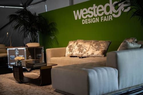 Interior Design by Josh Cooperman - Convo By Design seen at WestEdge Design Fair 2018, Barker Hanger, Santa Monica - Convo By Design - Programming Lounge