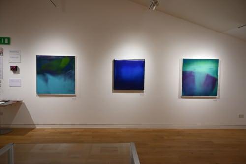 Paintings by Richard Heys seen at Creator's Studio, Sevenoaks - Abstract Painting: Folded Light II