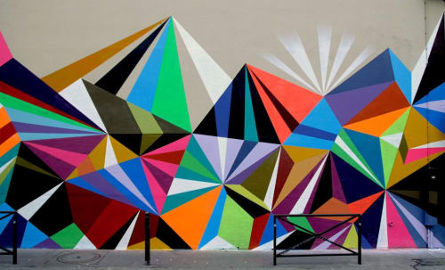 Murals by MATT W. MOORE seen at Paris, Paris - MWM Diamonds.
