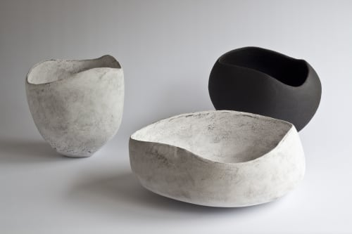 Sculptures by Yasha Butler seen at Private Residence, London - Caria Vessel - The Lithic Collection