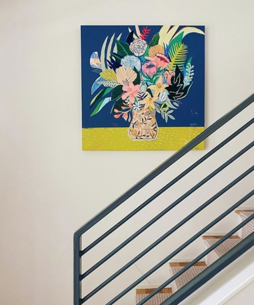 Paintings by Misha Blaise seen at Private Residence, Austin - Flowers for Adriana