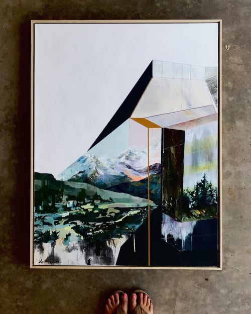 Paintings by Noelle Phares at Private Residence, Breckenridge - Overlook