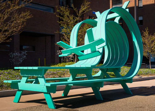 Public Sculptures by Michael Beitz seen at University at Buffalo, Buffalo - Whippy