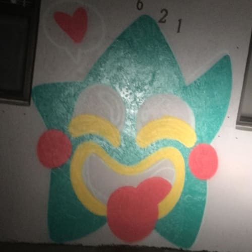 Murals by FreakyKissDesigns seen at West Park, West Park - Star