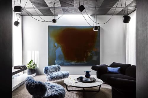 Paintings by Dale Frank seen at Private Residence, Brighton - Beautiful Art