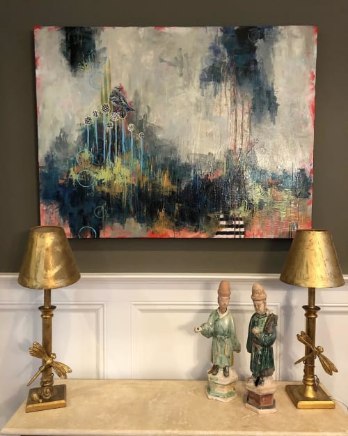 Paintings by Jennifer Ferris Fine Art seen at Private Residence, Atlanta - Abstract Painting