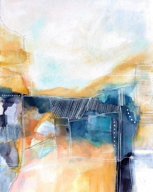 Paintings by Melanie Biehle seen at Creator's Studio, Everett - Golden Hour