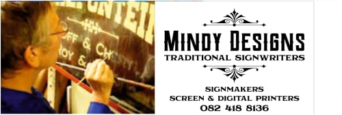 Mindy Designs Traditional Signwriters & Signmakers , Screen & DIgital Printers - Art and Signage