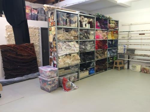 Waste Textiles Artist Femke van Gemert - Wall Hangings and Art