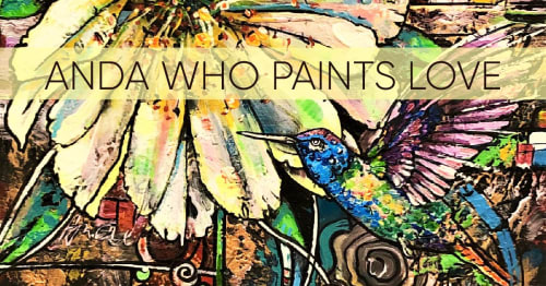 Anda Who Paints Love - Paintings and Art