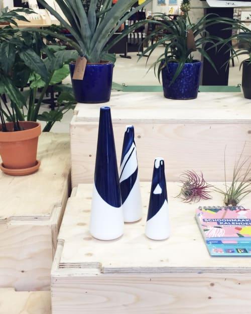 Vases & Vessels by Studio Ineke van der Werff seen at Leidsche Rijn Center, Utrecht - ALS GEGOTEN vase