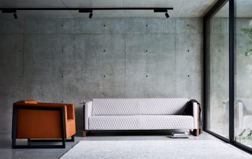 Couches & Sofas by FrancoCrea seen at Private Residence, Melbourne - Mena