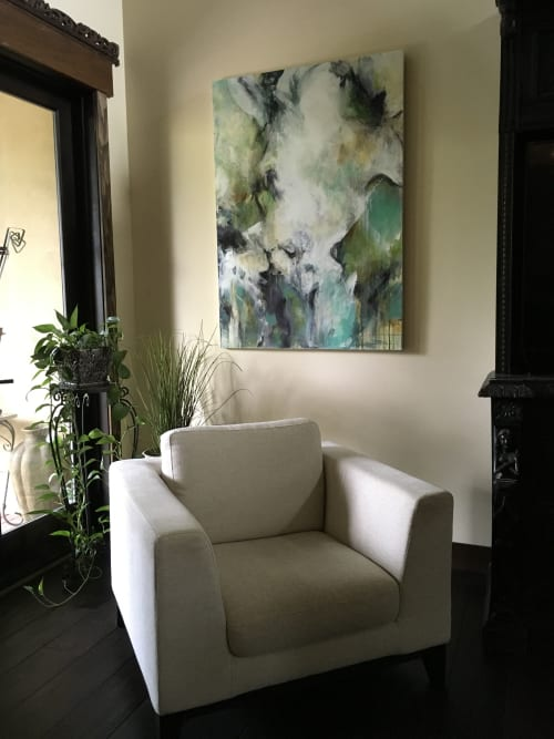 Paintings by Jeanette Jarville B.FA seen at Private Residence, Surrey - Jeanette Jarville