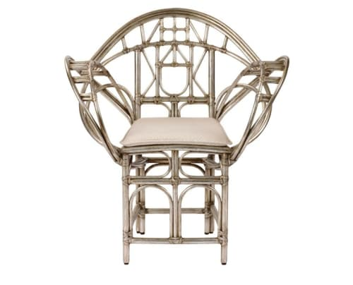 Chairs by McGuire Furniture seen at Kost, Toronto - Butterfly Chair