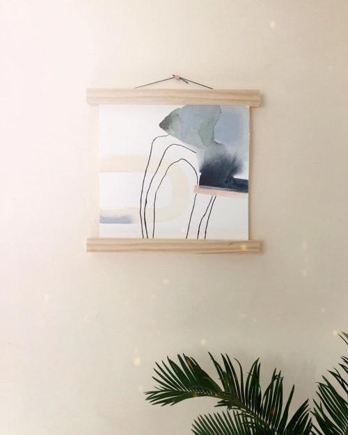 Paintings by Quinnarie Studio seen at Creator's Studio, Bellingham - Through + Through