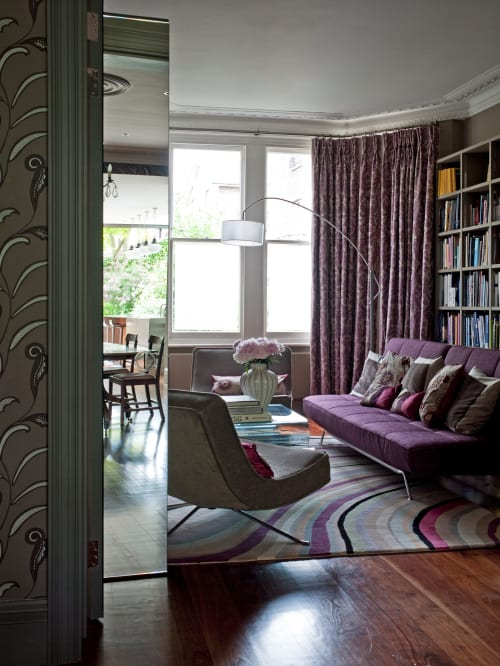 Interior Design by Gabi Da Rocha Interiors seen at Private Residence, Richmond - Victorian House on Richmond Hill