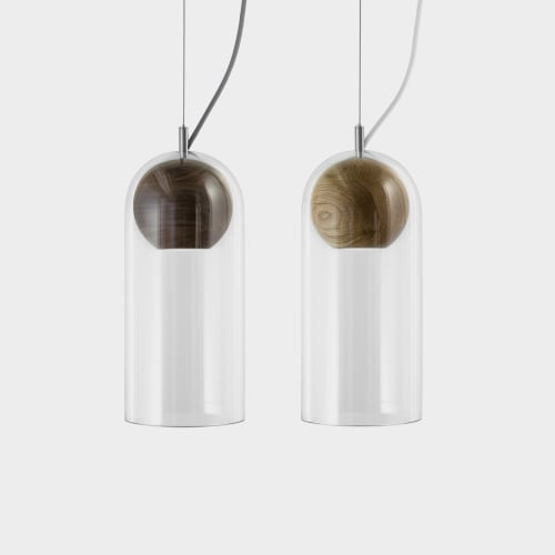 Pendants by Vitamin seen at Vitamin Living Studio, London - Vitamin Cloak Pendant Light