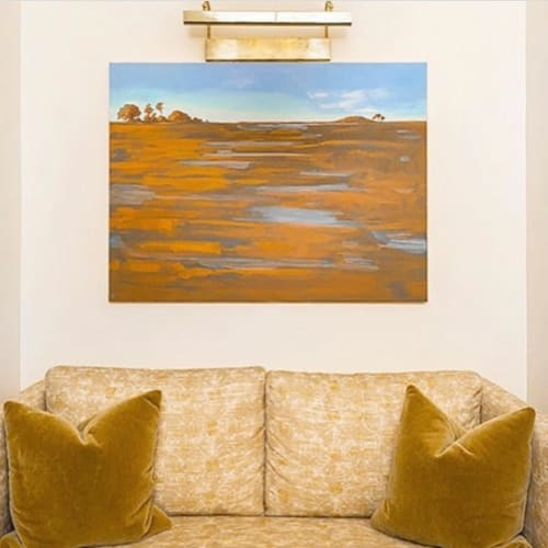 Paintings by Lynne Riding seen at The Dewberry Charleston, Charleston - Landscape Painting