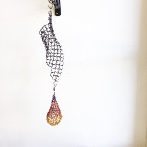 Sculptures by Deanna Gabiga seen at Deanna Gabiga Studio, Honolulu - Waterfall Drop Sculptures (Indoor)