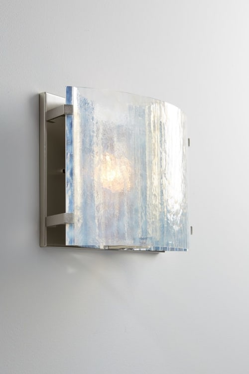 Sconces by McEwen Lighting Studio at SF Decorator Showcase 2019, San Francisco - Vellum Wall
