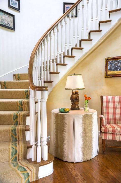 Rugs by Martin Patrick Evan seen at Private Residence, Santa Barbara - Staircase Rug