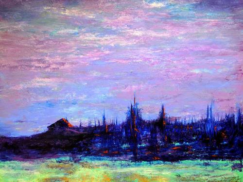 Evensong | Paintings by Marina May Raike