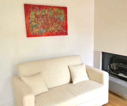 Paintings by Alicent Art seen at Private Residence - Happiness