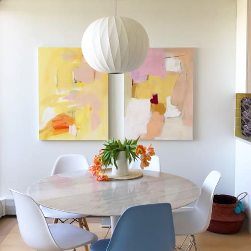 Paintings by Genevieve Allen seen at Private Residence, Vancouver - Custom Art