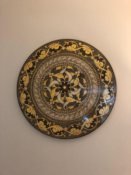 Paintings by Salvatore Battaglia seen at Private Residence, Surbiton - Rotondo Grigio