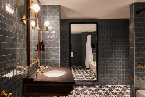 Tiles by Design and Direct Source seen at 1201 K St NW, Washington - Santos Series: Moroccan